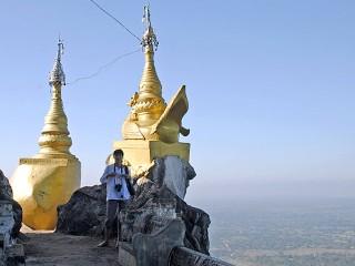 Бирма - гора Попа (Burma - Mt. Popa)