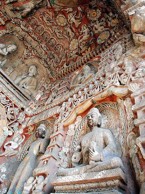 Буддистский пещерный храмовый комплекс Юньган (Yungang Shiku)