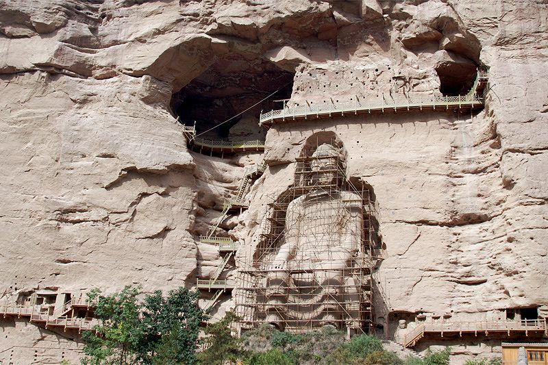 Буддистский скальный храмовый комплекс Бинлин Сы (Бинлинсы, Bingling Si))