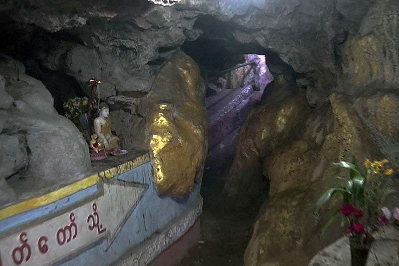 Пещера Ко Ка Таунг (Kaw Ka Thaung Cave)