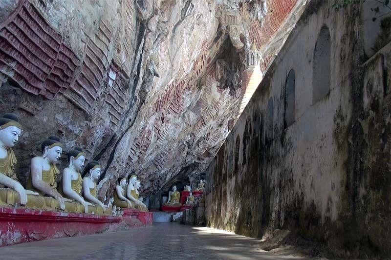 Пещера Когун (Kaw Goon caves, Kaw Gone)