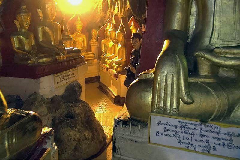 Пещерный буддистский храм Пиндая (Pindaya cave)
