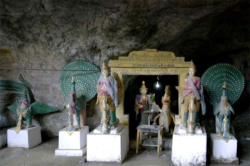 Пещера Саддан (Saddan cave near Hpa-An)
