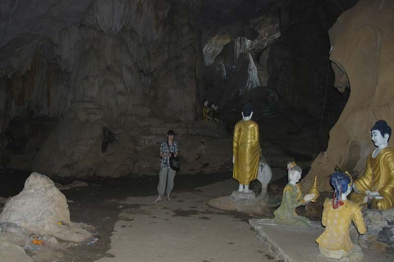 Saddan caves (Пещера Саддан) - Mawlamyine (Моламьяйн)