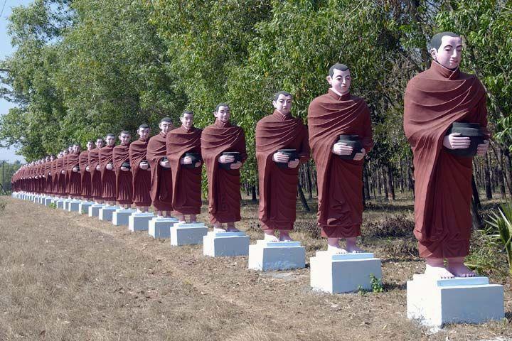 Гигантский Будда - Вин Сейн То Я (Win Sein Taw Ya)