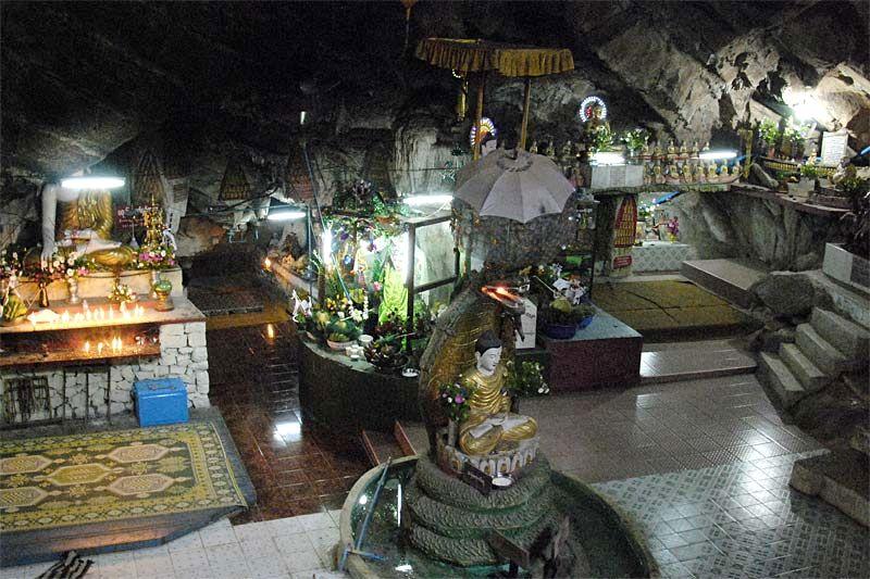 Пещерный буддистский храм Падамья в Таунджи (Padamya (Ruby) Cave at Taunggyi)