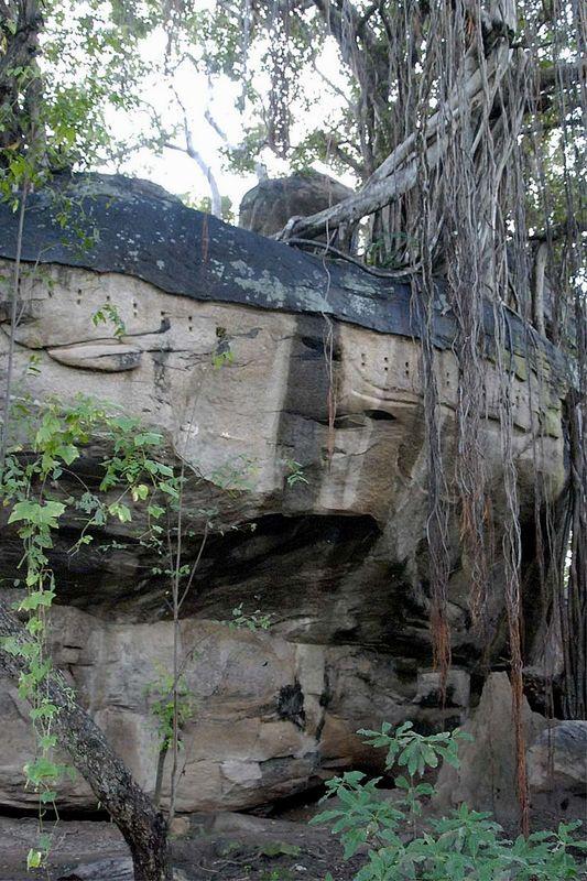 Пещера Гопала Пабата в Полоннаруве (Gopala Pabbatha cave shelter)