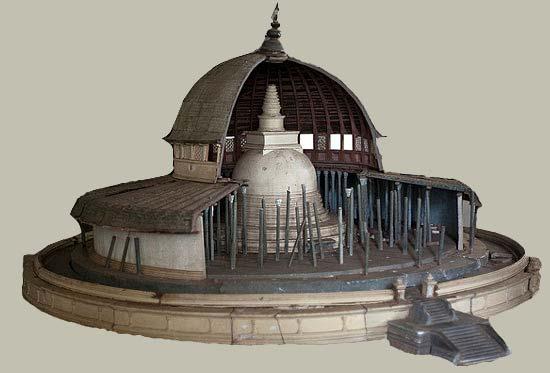 Vatadage-(Anuradhapura-museum)