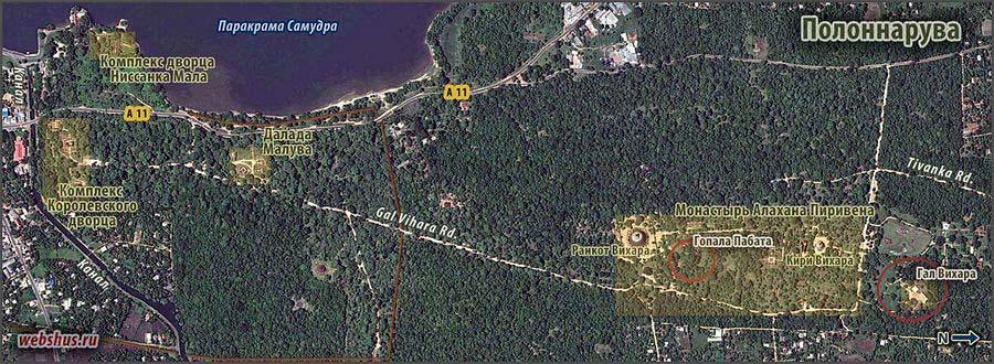 План Полоннаруы (Polonnaruwa plan)