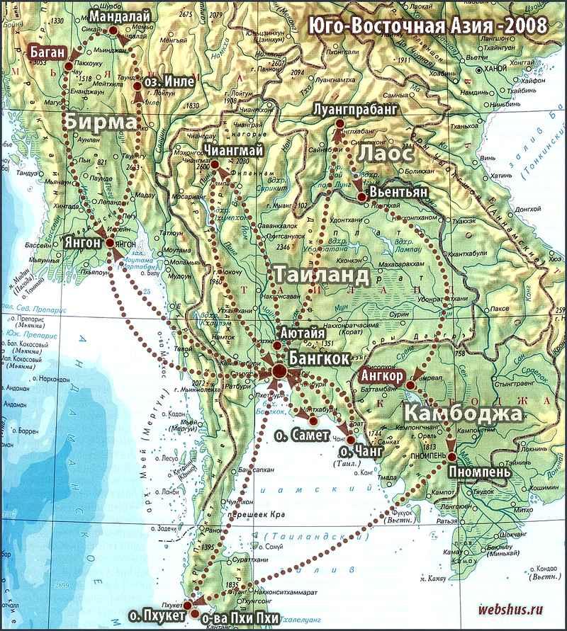 SEA map