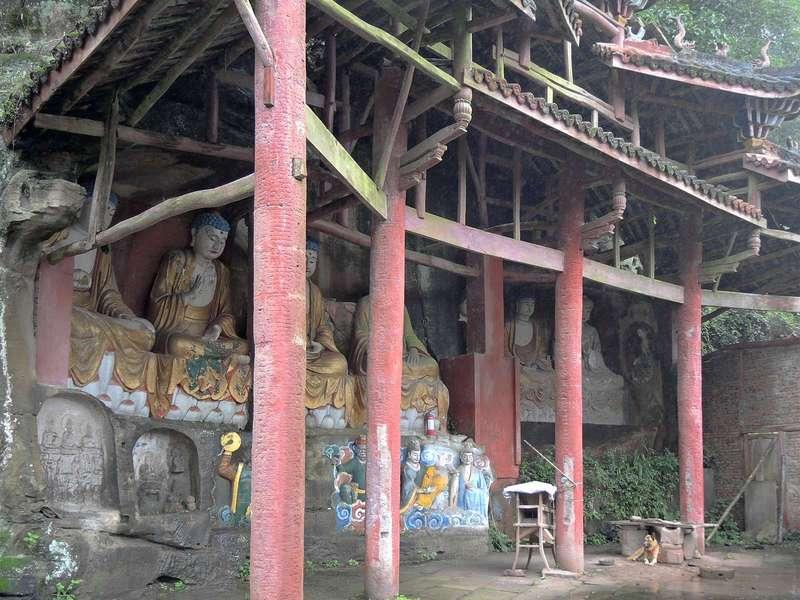 Махамаюри (Mahamayuri cave temple)
