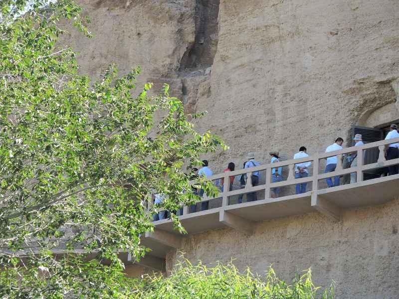 Буддистские пещеры Юйлинь (Yulin Budhist Caves)