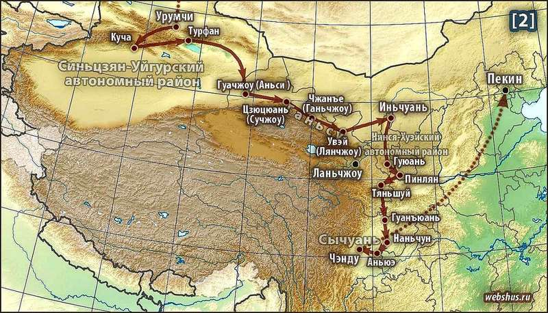 China_Travel-2_route_map-800
