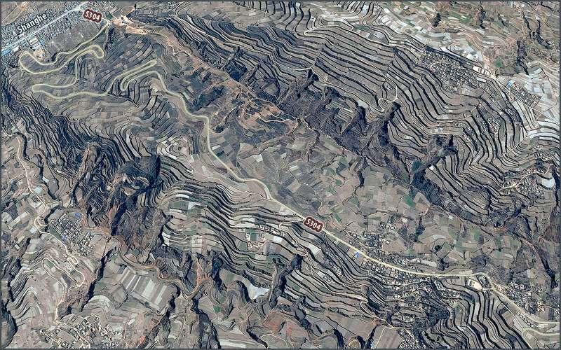 Sanghe-Terraces