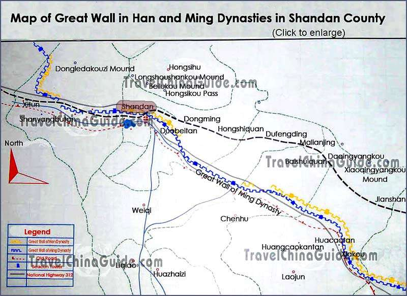 gansu-shandan-great-wall